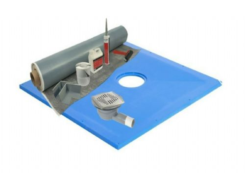 Maxxus Hydromat 10M2 Membrane Wetroom Kit - Various Sizes, Inc Former & Drain